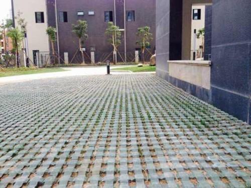 乐动体育直播平台杏林三聚镇停车场植草砖工程