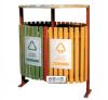 柳州钢木垃圾桶厂