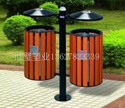 广西钢木垃圾桶