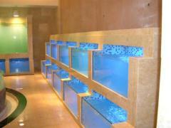 漳州酒店海鲜池制作