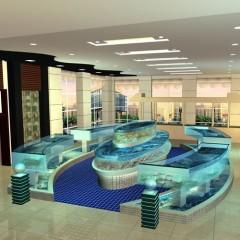 泉州酒店海鲜池制作