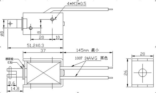 自动化设备电磁铁