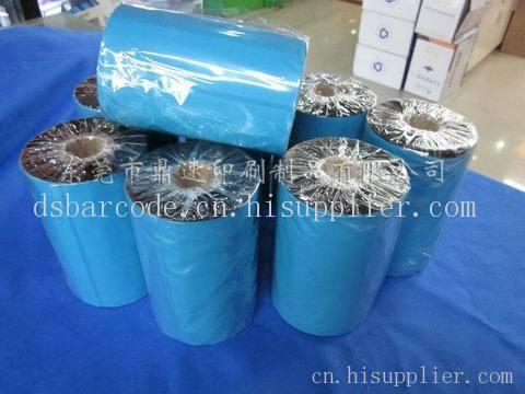 树脂标签碳带80*300 pet pvc防水防刮条码色带 不干胶标签碳带