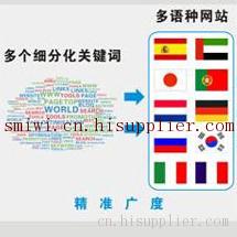 西安小语种外贸网站制作及推广