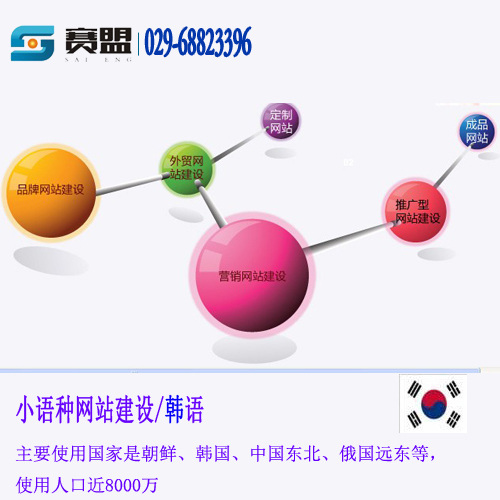 韩语网站开发制作西安