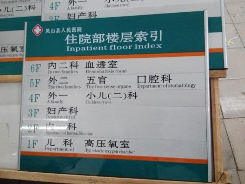 南宁医院识标牌制作厂