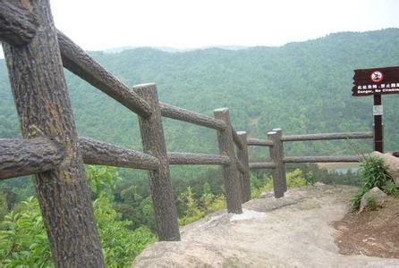 梯形仿木栏杆