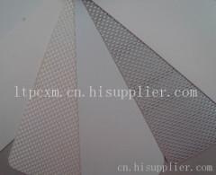 PVC单面夹网涂层布