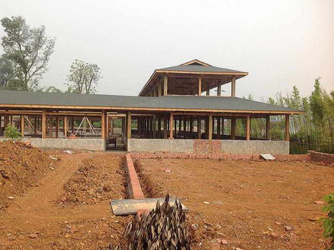 贵州贵阳防腐木木屋设计