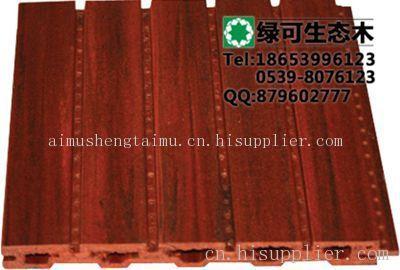 生态木绿可木塑木吸音板练歌房吸音板装修材料