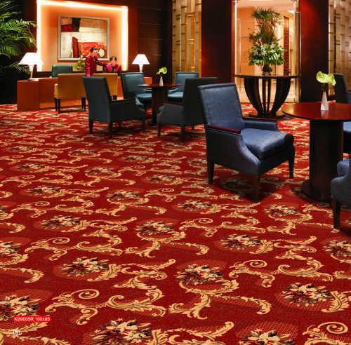 酒店地毯施工