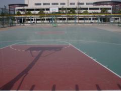 厦门体育运动场地坪