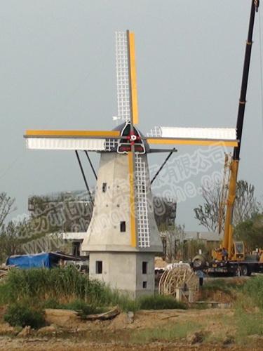 园林景观风车