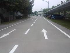 大连道路划线