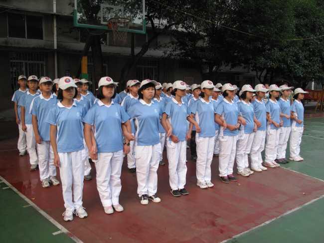 塘沽滨海中学校服