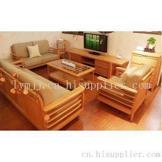 榆木客厅家具组成