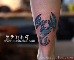 沈阳专业纹身疼不因刺进皮下,所以难以去掉.图片