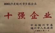 随州乡镇十强企业