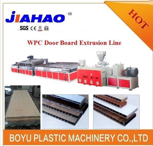 PVC木塑门板挤出生产线
