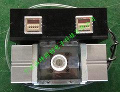 LED灯头压点设备-GU10 MR16灯头铜脚电源线免焊压点机