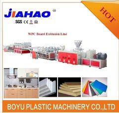PVC橱柜板挤出生产线