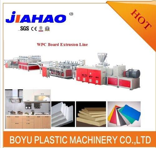PVC木塑橱柜板生产线