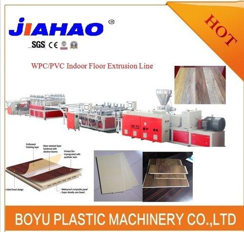 PVC木塑地板挤出生产线