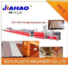 PVC木塑生态木挤出生产线