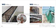 贵阳锌钢楼梯扶手厂家