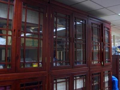 香樟木古籍书柜厂