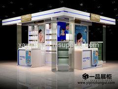 西安化妆品展柜制作公司
