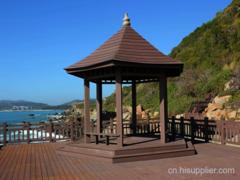 贵州防腐木凉亭搭建