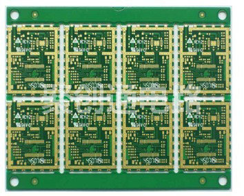 双面半孔沉金pcb聚创通电路fr4电路板特殊工艺电路板