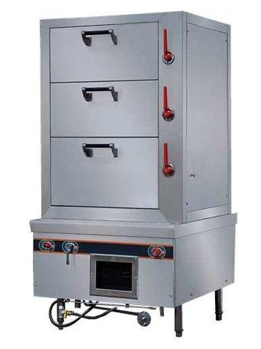 电热海鲜蒸柜