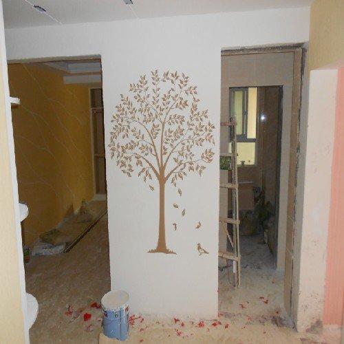 硅藻泥长廊装修硅藻泥走廊装修西安硅藻泥走廊装修泥