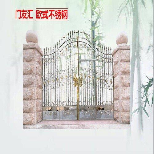 欧式不锈钢庭院大门8005欧式不锈钢压花不锈钢庭院大