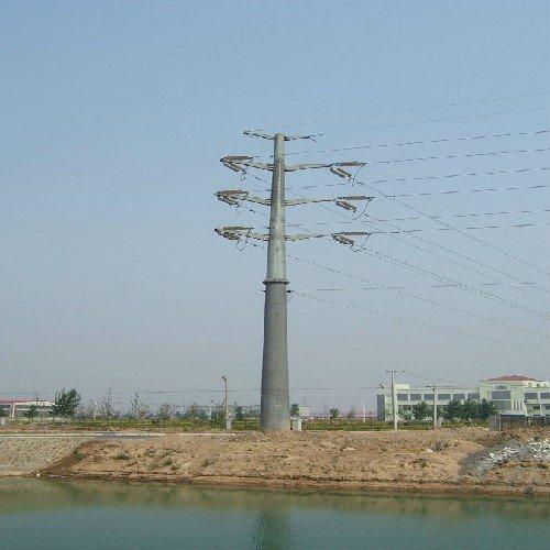 钢管杆钢管构支架潍坊钢管杆潍坊铁塔变电站构架供应