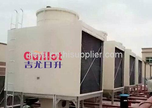 方形横流式冷却塔_方形横流冷却塔