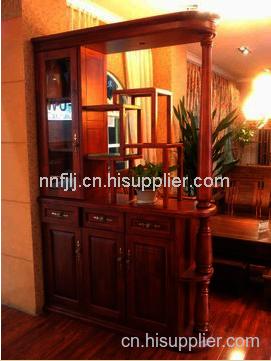 香樟木书画柜设计