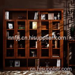 香樟木书柜定做厂家