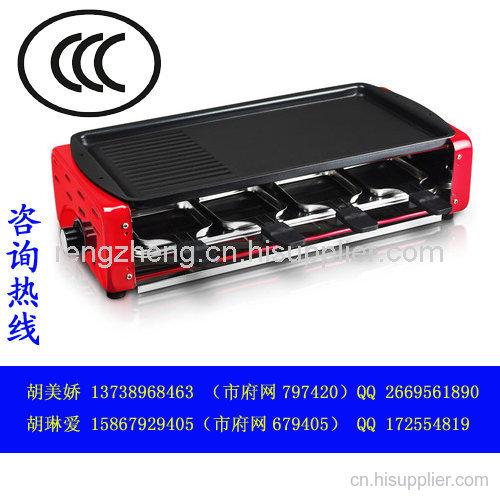 韓式家用電烤爐CCC認證