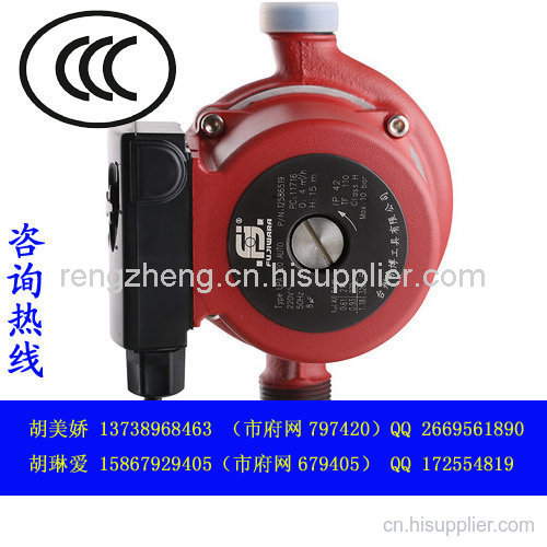 家用泵CQC認證