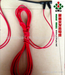 单层碳纤维发热电缆