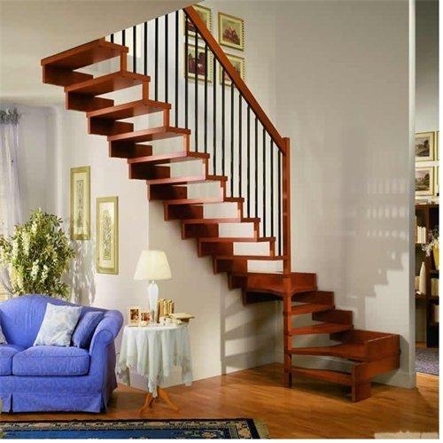 贵阳楼梯厂家哪些木材适合做实木楼梯?