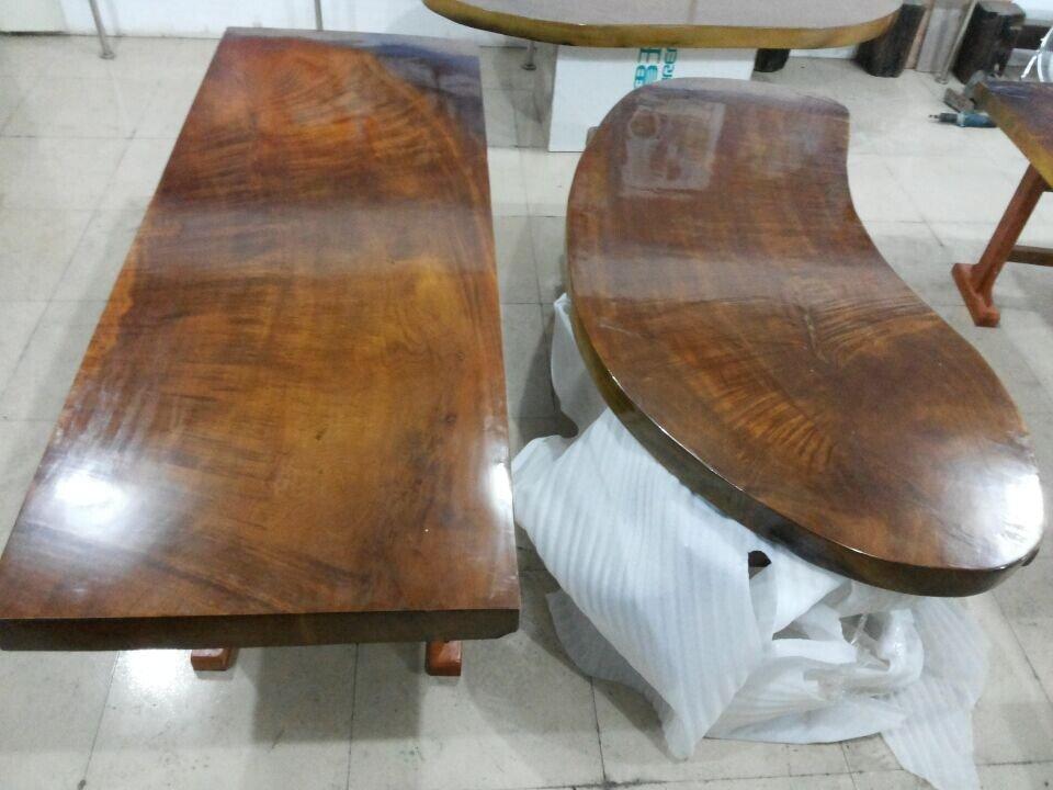 公司主营的木制品以薄利多销