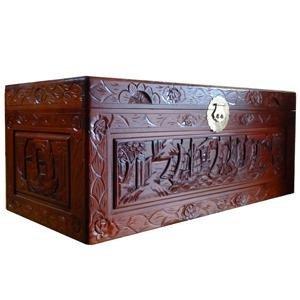 香樟木书画盒设计