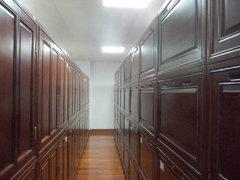 图书馆香樟木古籍书柜厂