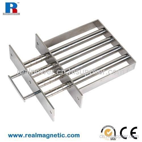 磁格栅永磁除铁设备磁力架