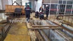 营口电厂二期泵房泵拦物栅闸门涵洞入口清淤
