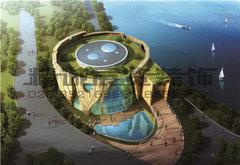 展览馆展厅——世园会-绿地生态馆展示部分